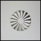 Type DFRE-Q Fixed blade swirl diffuser